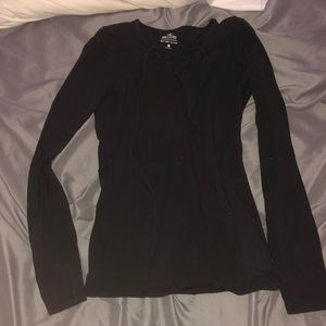 Hollister cross up long sleeve